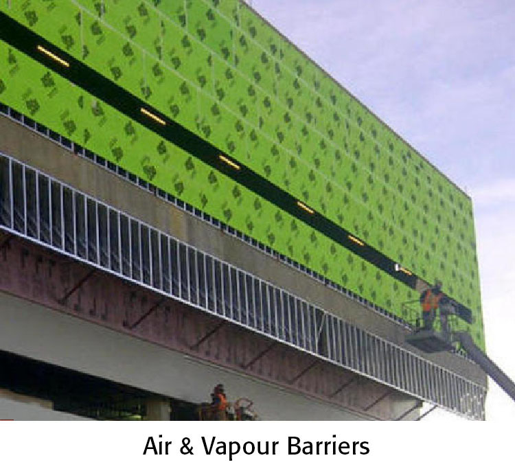 Air and Vapour Barriers