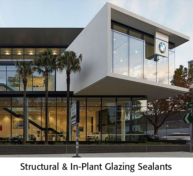 Structural and In-plant Glazing Sealants